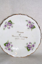 ROYAL ADDERLEY CANADA'S CENTENARY MINIATURE PLATE