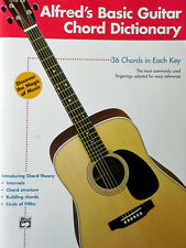 ALFRED'S BASIC GUITAR CHORD DICTIONARY - 36 CHORDS IN EACH KEY - 81 PAGES