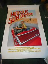 HIDEOUS SUN DEMON: THE SPECIAL EDITION - ORIGINAL SS ROLLED POSTER - 1983