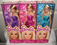 #9255 NRFB Mattel Set of 3 Glamour Dressed Barbie Dolls