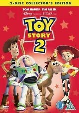 TOY STORY 2 2 DISC COLLECTORS EDITION WALT DISNEY PIXAR UK REGION 2 DVD EXCELLNT