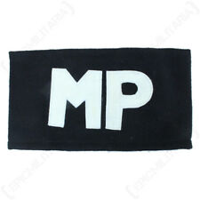AMERICAN MP ARMBAND - Repro US Military Police Army Costume Uniform Black White