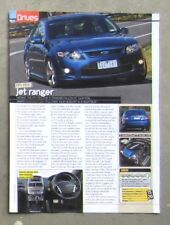FORD FG FALCON FPV F6 TURBO 2010 Sedan Auto Magazine Review Road Test Article
