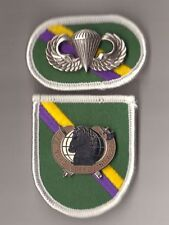 CIVIL AFFAIRS & PSYCH. OPERATIONS CMD (AIRBORNE) - FLASH OVAL DI (CREST) WINGS