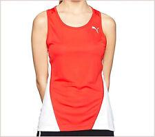Puma ropa deportiva mujer cross the line tops camiseta roja talla XL /46 running