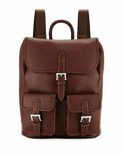 Robert Graham Johny Men's Faux Leather Brown Backpack