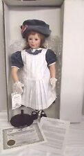 "Great American Doll Co, Rotraut Schrott Vinyl Doll ""Laura"" #147 of 1000 Limited"