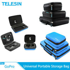 TELESIN Portable Storage Bag Camera Carrying Shocckproof Case For GoPro XiaoYi