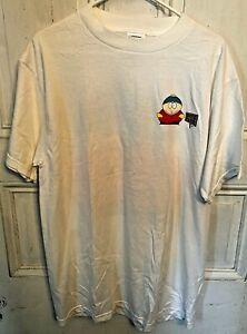 Vintage 1998 Comedy Central South Park Cartman Mens L T-Shirt NEW