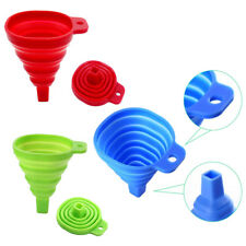 Foldable Silicone Kitchen Funnel Retractable Practical Household Tool Gadget