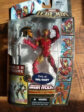Marvel Legends Heroes Reborn Iron Man BAF Ares Walmart Exclusive Figure New