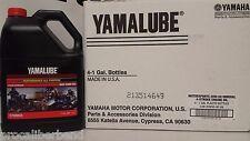 YAMALUBE 20W50 4 GALLON CASE OF YAMAHA OIL 20 W 50 LUB-20W50-AP-04 NIB NEW YZF R