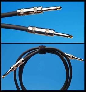 Cryo SoniKLEER AMP 5' SPEAKER CABLE FITS FENDER MARSHALL MESA AMPEG Cryogenic