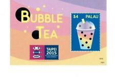 Palau - 2015 - Taiwan Stamp Expo-Bubble Tea - Souvenir Sheet -Mnh