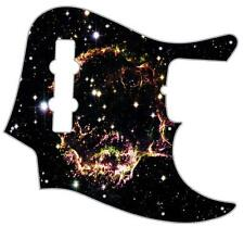 J Bass Pickguard Custom Fender Graphic Graphical Guitar Pick Guard Supernova