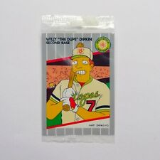 1994 SIMPSONS SERIES II WILLY THE DUPE DIPKIN B1 SEALED PROMO CARDSkybox