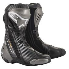 Alpinestars Supertech R Motorcycle Racing Boot, Size EU 44 - Black