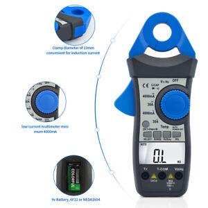 Stromzange Zangenamperemeter mA AC DC Zangen Multimeter Gleichstromzange 870K DE