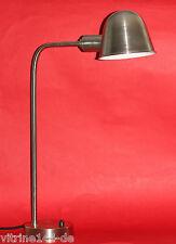 Bauhaus Lampe de bureau büroleuchte Gispen Modèle De Conception 1936 argent mat