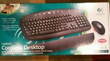 Logitech Cordless Desktop 9674370403 Wireless Keyboard