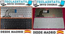 TECLADO PARA HP 250 G3 255 G3 256 G3 SERIES NEGRO O BLANCO ESPAÑOL CON MARCO