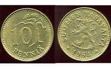 FINLANDE 10 pennia 1964