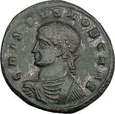 Crispus Constantine the Great son 320AD Ancient Roman Coin Sucess Wreath i38621