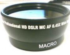 Wide Lens for Sony HDR-HC1E HDRHC1E HDRXR520E DCRSR290