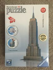 Ravensburger 3D Empire State Building 216 pc Jigsaw Puzzle NIB