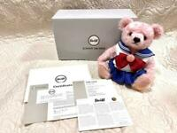Steiff x Sailor Moon Teddy Bear Plush Doll 25th Anniversary Limited Pink wz Box