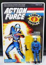 G.I.JOE CUSTOM U.K. ACTION FORCE COBRA COMMANDER MOC. READ DESCRIPTION!