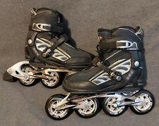 Roller Derby Spartan Z 9.9 Racing In-Line Skates Size 7 Abec 9 6000 Series 90mm