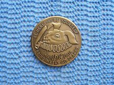 1967 BUNNY: Mobile, AL - Date Medal Antique Bronze Mardi Gras Doubloon