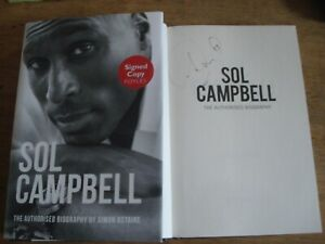 Sol Campbell The Authorised Biography,SIGNED BY SOL CAMPBELL..F/E H/B 2014