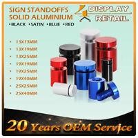 500pcs Sign Standoffs/Aluminum Wall Mount Hardware/Panel Support/Signage Fixing