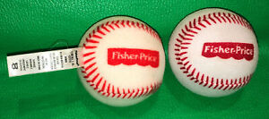 Fisher Price GROW TO PRO Better Batter Replacement Baseball Ball -Set of 2 DTM19