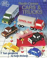 "ASN ""CARS & TRUCKS"" Plastic Canvas Pattern #3091"