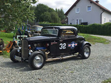 Ford 1932 3 Window Coupe Deuce H-Kennz. Oldtimer Hotrod Ratrod Corsair WGA