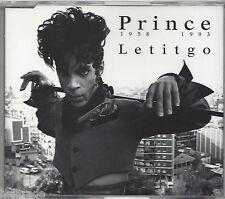 PRINCE / LETITGO * NEW MAXI-CD * NEU *