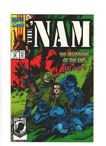 The 'Nam #79 VF/NM 9.0 Marvel Comics Vietnam War 1993 Beginning of the End pt.1