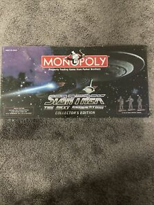 Star Trek The Next Generation Monopoly Collector's Edition 1998  FACTORY SEALED