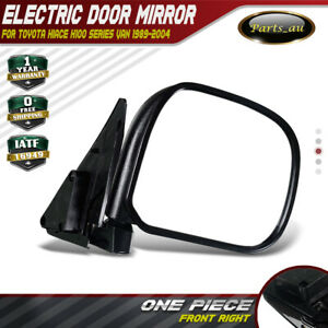 Manual Door Side Mirror for Toyota Hiace H100 Series Van 1989-2004 Front Right