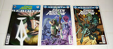 DC REBIRTH GREEN ARROW 1 REGULAR & VARIANT COVERS 9.8 MINT UNREAD STEPHEN AMELL