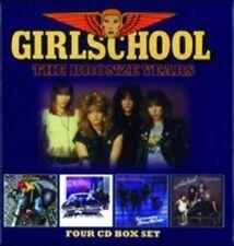 Girlschool The Bronze Years 4cd BOXSET CD