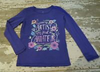 PEEK Long Sleeve Purple Every Artist Ralph Waldo Emerson Graphic Shirt XL 10