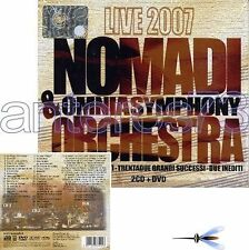 "NOMADI ""ORCHESTRA LIVE 2007"" RARO BOX 2 CD + DVD SIGILLATO"
