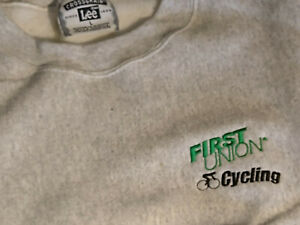 First Union Professional Cycling Race Sweatshirt New: Size Large Philadelphia