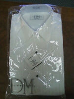 New for Men.   Formal Dress or Tuxedo Shirt. Standard Collar or Wingtip Collar.