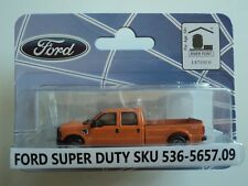 RIVER POINT  2008  FORD  F-350 XLT SPORT CREW CAB  ORANGE 1/87  HO   PLASTIC