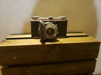 Voigtlander Vito I Post WW2 Folding Camera Prontor II Skopar 1:3.5 f=5cm